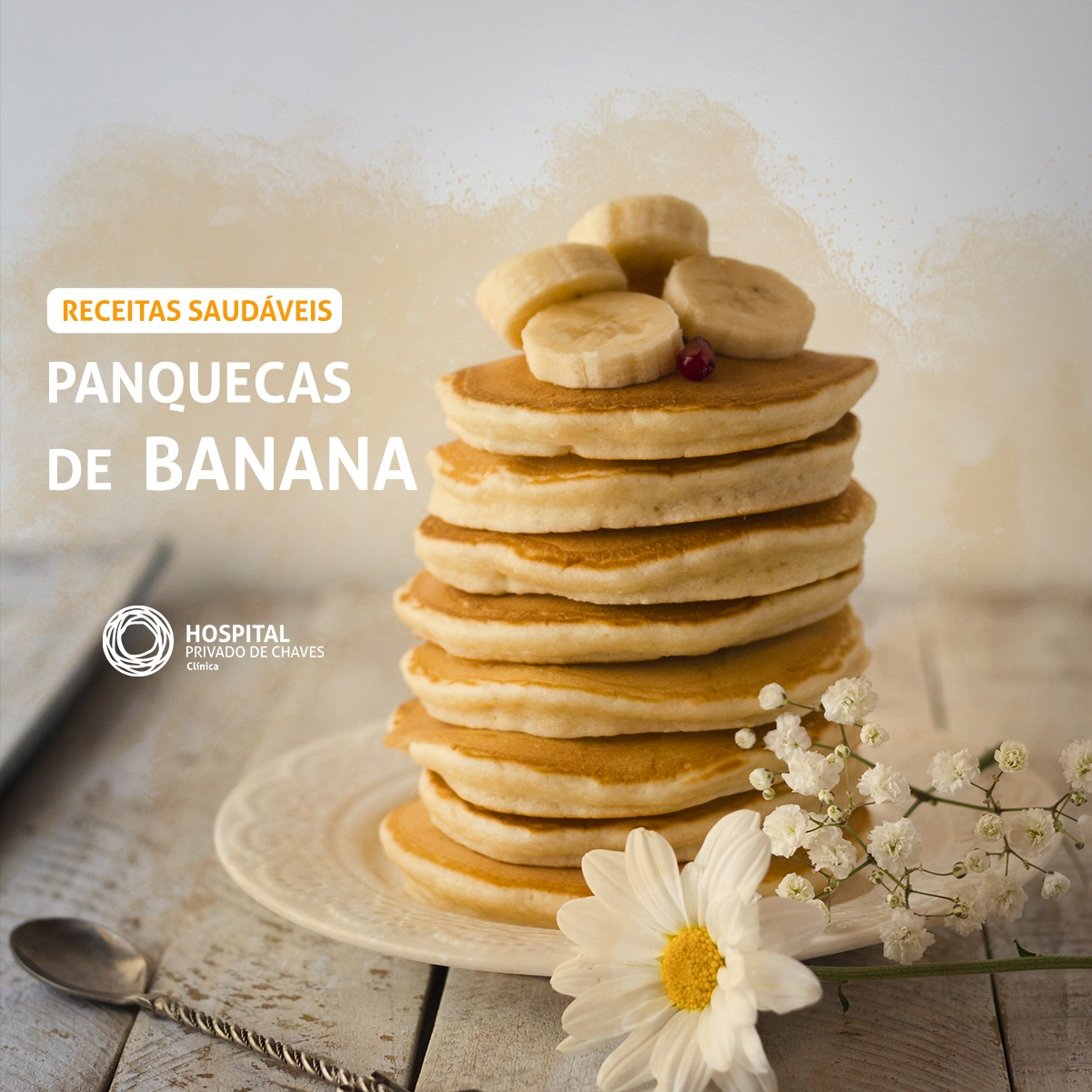 PANQUECAS DE BANANA