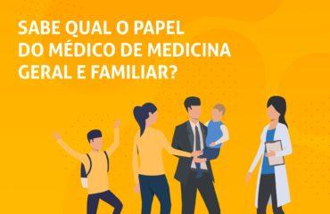 SABE QUAL É O PAPEL DO MÉDICO DE MEDICINA GERAL E FAMILIAR?