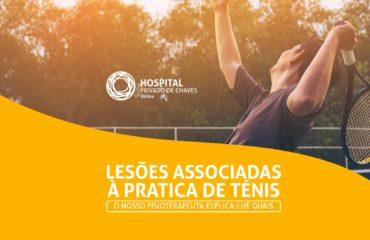Lesões associadas à prática de Ténis: como tratar?