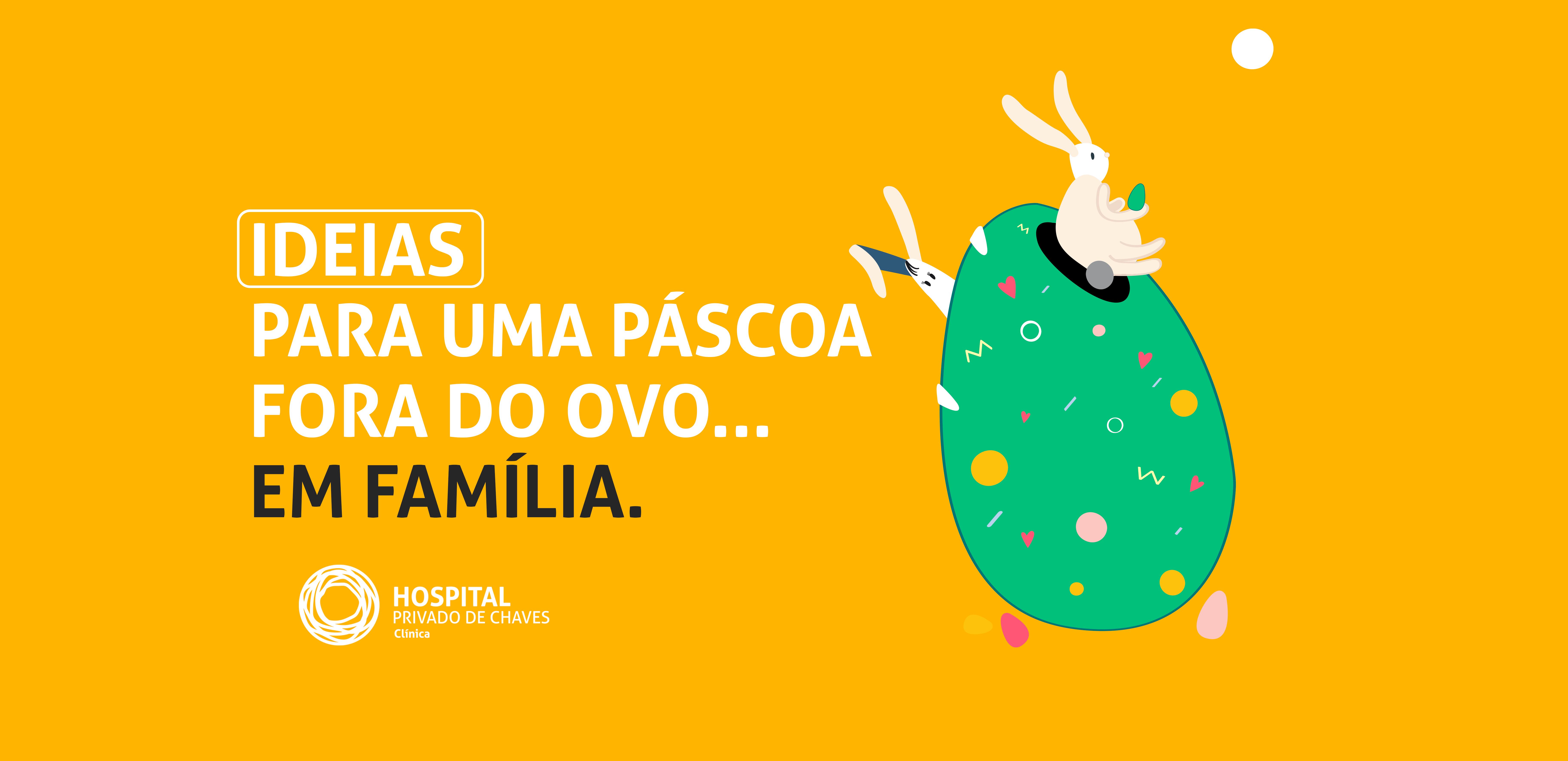 5 ideias para uma Páscoa fora do ovo… Em família!